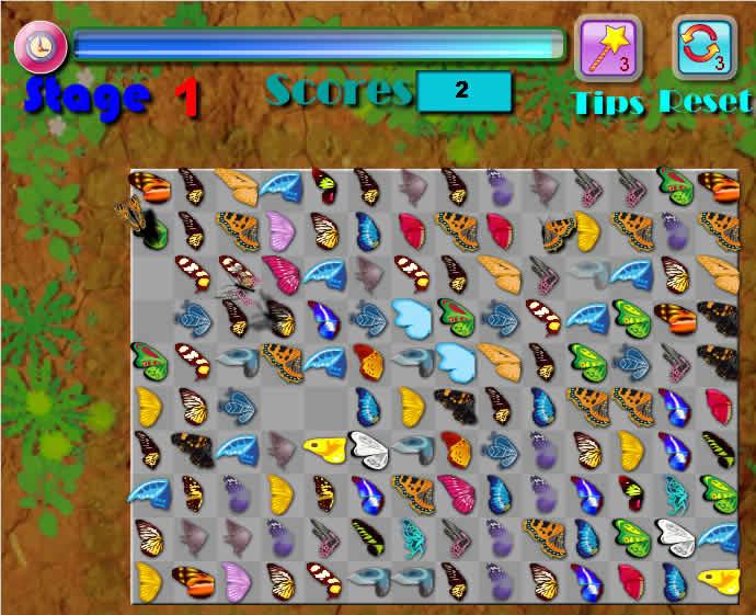 Онлайн игра Маджонг Бабочки играть бесплатно