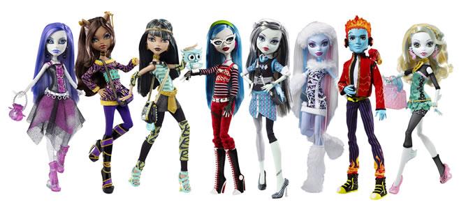 видео куклы монстр хай