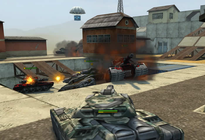 World of tanks 3d игра rush. второй фронт