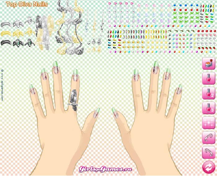 Ногти Топ Дивы