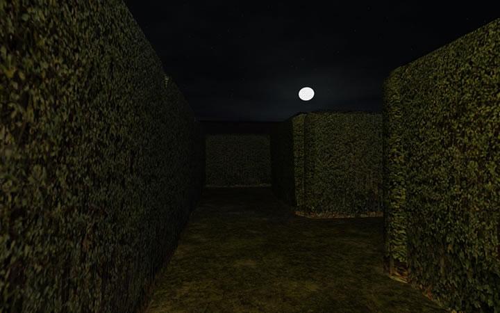 уровень в игре Слендер - Клаустрофобия