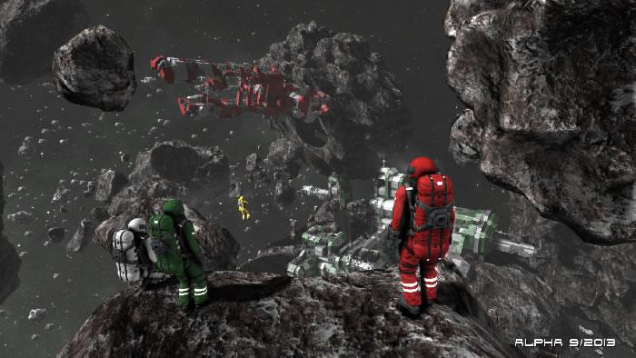 Space Engineers - Майнкрафт в космосе
