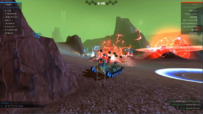 Robocraft - бесплатный клон Майнкрафта