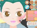 Маска и макияж для студентки