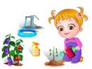 baby-hazel-gardening-time