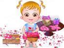 Малышка Хейзел и День Валентина