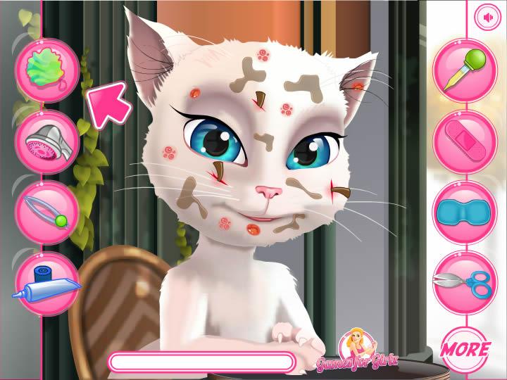кошки анжелы из игры