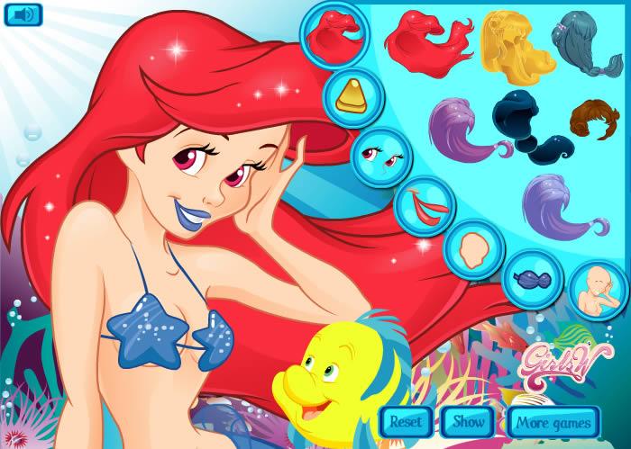И русалочка играть игры онлайн без регистрации секс для взрослых