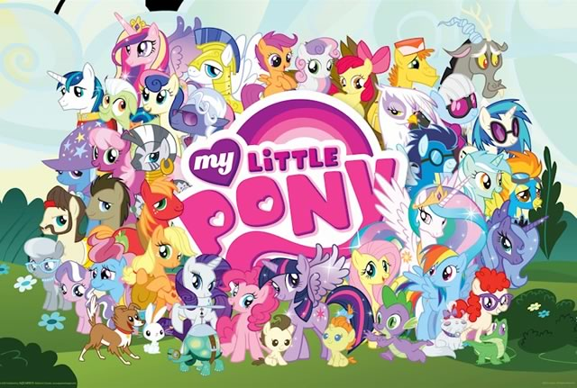 Герои мультфильма My Little Pony: Friendship is Magic