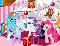 Новый год у Литл Пони