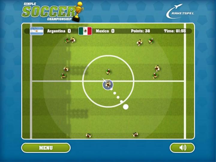 Супер Футбол - игра онлайн