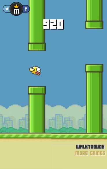 Flappy Bird Обратный Отсчёт