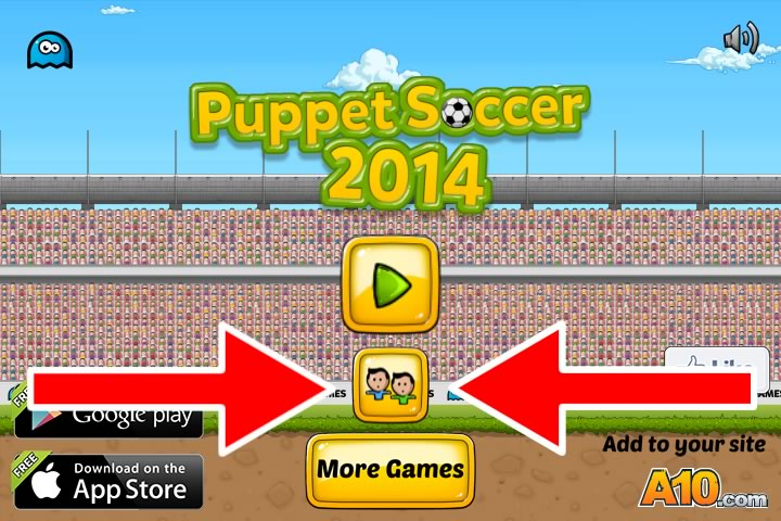 Как запустить компьютерную игру Puppet Soccer 2014 на двоих игроков