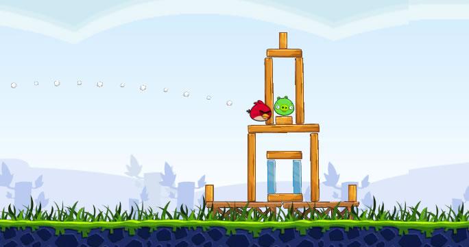 первая версия Angry Birds