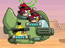 Angry Birds на вертолете