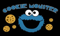 Cookie Monster с улицы Сезам