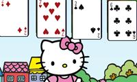 Игра Косынка с кошечкой