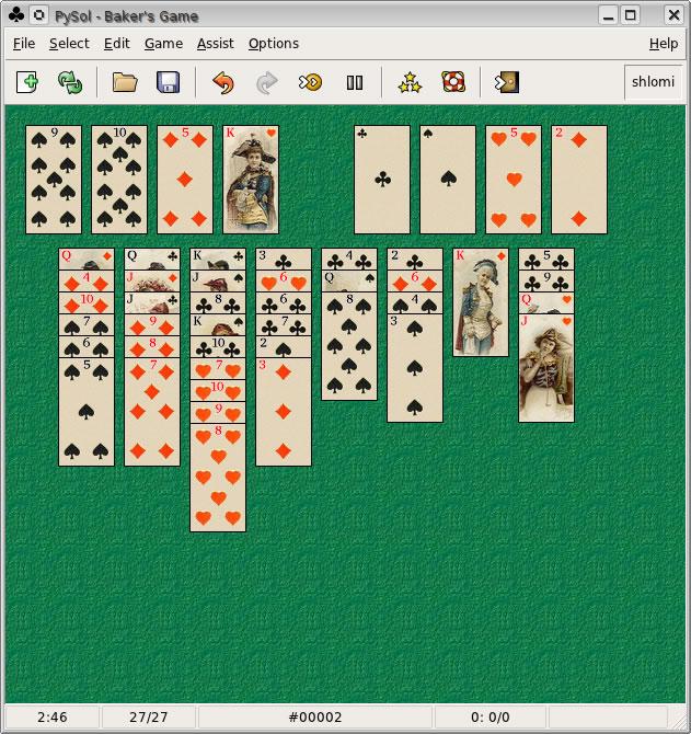Игра Бейкера - начало игры