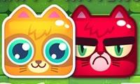Веселый кот, сердитый кот