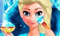 Макияж принцессы Эльзы