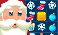 Дед Мороз и Три в ряд