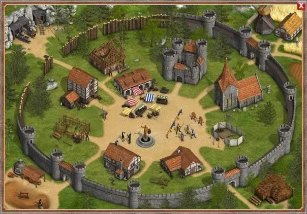 Онлайн игры строительство замков